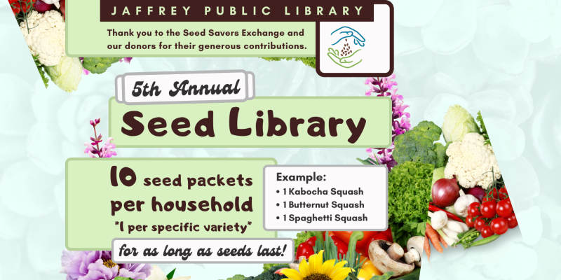 Seed Library Poster
